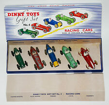 Dinky Toys Gift Set No. 4 - Racing Cars in professioneller Reprobox