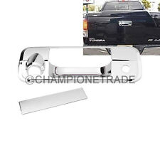 Tailgate Rear Door Handle Cover W/Camera Hole Set for Toyota Tundra 2008-2013 CT