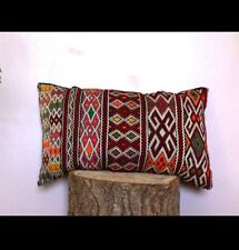 Vintage Moroccan Kilim Berber Pillow Cover Anthropologie/ Urban Outfitters