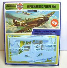 Airfix Bausatz Supermarine Spitfire Mk1, 1:72, auf Karte