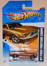 Hot Wheels 1967 Ford Mustang Coupe #116 Muscle Mania #6/10 Copper 2012