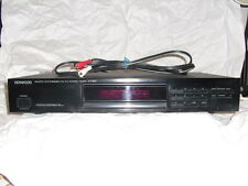 Kenwood KT-592 AM/FM Stereo Tuner,copy of manual,RCA cable