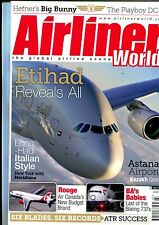 Airliner World 2015 March British Airways 737,DC9,Air Canada Rouge,Meridiana
