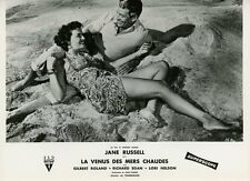 SEXY JANE RUSSELL UNDERWATER ! 1955 VINTAGE PHOTO ORIGINAL FRENCH LOBBY CARD #2