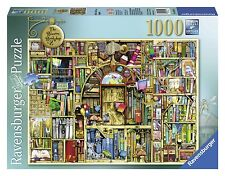 Ravensburger Bizarre Bookshop 2 Jigsaw Puzzle (1000-Piece) , New, Free Shipping