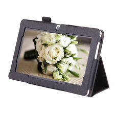 "New Black Protective Folding Stand Leather Case Cover for iRULU 7"" Q8 Tablet PC"