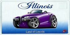 Plymouth Prowler Muscle Car License Plate NEW