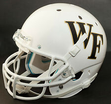 WAKE FOREST DEMON DEACONS Schutt AiR XP Gameday REPLICA Football Helmet (WHITE)