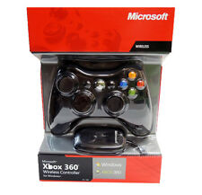Official Microsoft Xbox 360 Wireless Controller for Xbox 360 and Windows PC