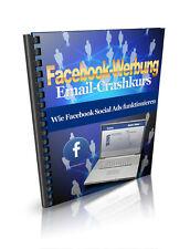 FB-Werbung - Wie Social Ads funktionieren - Crash-Kurs - versch. Lizenzarten