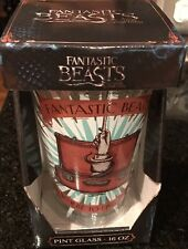 Fantastic Beasts & Where To Find Them Pint Glass 16oz Harry Potter
