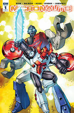 MICRONAUTS #1 CASEY W. COLLER 1:25 VARIANT COVER A! IDW NEAR MINT OR BETTER
