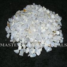 1KG Blue Lace Agate Tumblestones Mini Chip Crystal 3mm-5mm Gemstone Wholesale