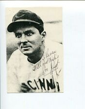Joe Just Cincinnati Reds Star 1944-1945 Signed Autograph Photo