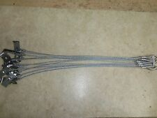 """1 DZ. STD. Berkshire Disposable Stakes W/ 18""""  3/32nd Cable Traps Trapping"""