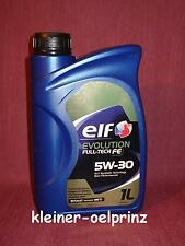 Elf evolution Full-Tech FE 5W-30 Motoröl für Renault ( DPF ) 1 ltr. ÖL RN 0720