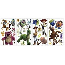 Toy Story 3 wall stickers BUZZ Lightyear WOODY JESSIE 34 big decals glow in dark