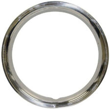 """EMPI 10-1069 STAINLESS STEEL BEAUTY RINGS 15"""" SET OF 4 VW BUG GHIA BUS THING"""