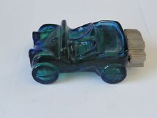 VINTAGE GLASS DUNE BUGGY FILLED WITH 5 OZ OF AVON AFTER SHAVE SPICY