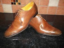 Wow! CANALI benchmade derby chaussures 7UK 41EU rtp £ 465 italien