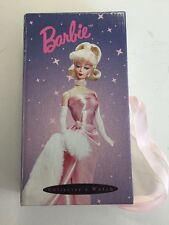 Rare BARBIE COLLECTOR'S WATCH PL-1026 GOLD 1996 MATTEL INC