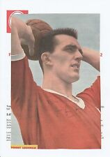 TOMMY LEISHMAN LIVERPOOL 1959-1963 ORIGINAL HAND SIGNED MAGAZINE CUTTING