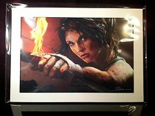 Tomb Raider Collector's Edition Poster Badges Soundtrack Lithograph PS3 Xbox 360