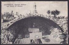 GORIZIA FOGLIANO REDIPUGLIA 08 CIMITERO MILITARE III ARMATA Cartolina viagg 1934
