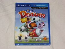 NEW (READ) Little Deviants PSVITA Game SEALED (w/ CUT) Playstation Vita US NTSC