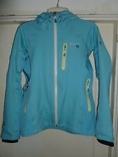 MOUNTAIN HARDWEAR ZAHRA DRY Q ELITE HOODED JACKET Women's SMALL