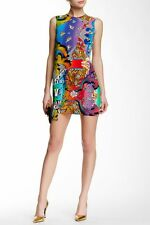 NWT Versus Versace Printed Wrap Dress 44 (US Size 8) $525