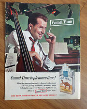 1964 Camel Cigarette Ad  Camel Time Good Rehearsal You've Got 10 Mintues Off