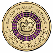 2013 $2 CORONATION PURPLE COIN EXTREMELY RARE&HIGHLY SOUGHT AFTER********