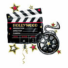 Hollywood Clapboard Supershape Balloon Helium fill Oscars Movie Theme Party