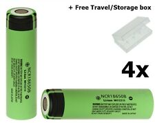 4 X Panasonic NCR-18650B 18650 Li-ion 3400mAh NK090 IT
