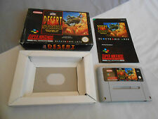 Desert Strike Return to the Gulf for the SNES - boxed with manual