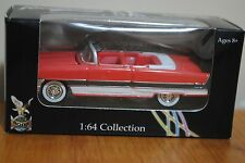 Red 1955 Packard Caribbean Yat Ming Road Signature 1:64 Collection US Car