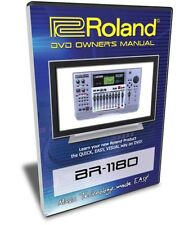 Roland (Boss) BR-1180 DVD Video Training Tutorial Help