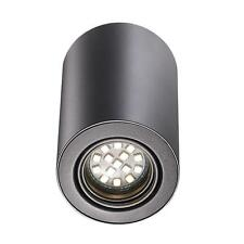 Design Nordlux Deckenleuchte Nota GU10 Metall Aufbauleuchte Zylinder aluminium