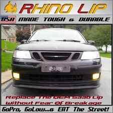 Saab Hirsch * Dura-Flexi-Lip Front Valance Chin Under Spoiler Splitter Edge Trim