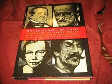 One Hundred Portraits Artists, Architects, Writers, Composers...BARRY MOSER 1ED