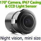 CCD Waterproof Night Vision Car Reverse Camera Rear View Parking Flush Tunezup