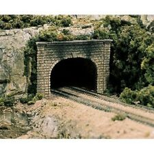 Woodland Scenics C1257 HO-Scale Double Tunnel Portal, Cut Stone