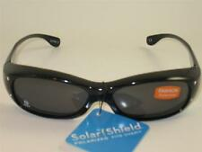 WOMENS FOSTER GRANT POLARIZED SOLAR SHIELD FIT OVER SUNGLASSES SMALL SIZE F5
