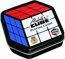 RUBIKS CUBE PLAYING CARDS - Card Games Retro 80s Puzzle Toys NOVELTY GIFT