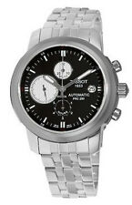Tissot Men's T014.427.11.051.01 T-Sport PRC 200 Stainless Steel Black Dial Watch