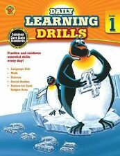 Daily Learning Drills, Grade 1-ExLibrary