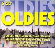 Oldies 6 CD-Box u.a Marvin Gaye, Billy Ocean, Pet Shop Boys, Baccara, Paul Anka