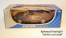 Anson Mercedes-Benz C-Class C320 W203 Sedan Avantgarde LHD Blue w/Gray 1/18 MINT