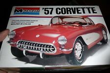 MONOGRAM 1957 CHEVY CORVETTE 2n1 1/24 1977 issue FS Model Car Mountain KIT